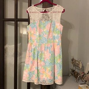 Lilly Pulitzer Multi-Color Floral Dress